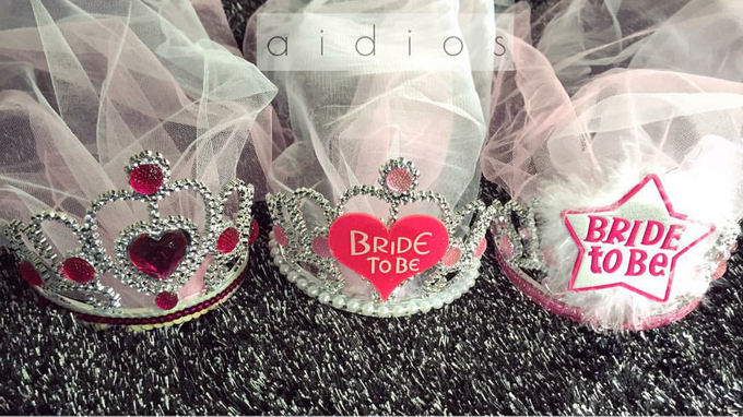 0ff635de6014 Add To Board Bride to be Tiara with Customized Veil by AIDIOS - 001