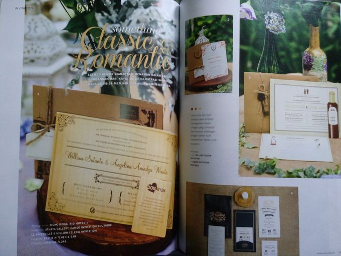 Featured in Bella Donna THE WEDDING by Catalina Flora - 006
