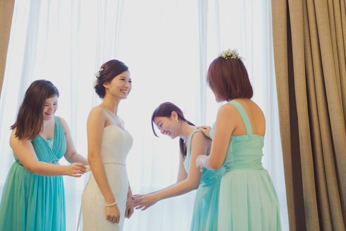 Garden Wedding of SY & CL by SimplyBenji Photography - 007