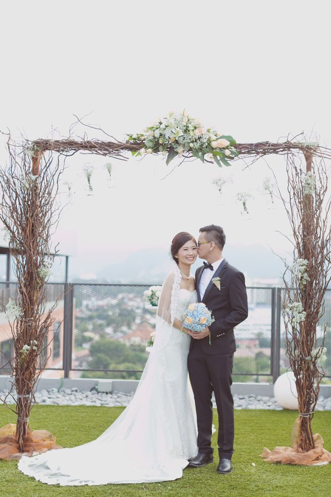 Garden Wedding of SY & CL by SimplyBenji Photography - 045