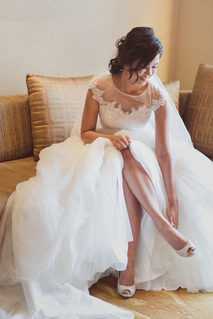 Wedding Day of LC & HC by SimplyBenji Photography - 005