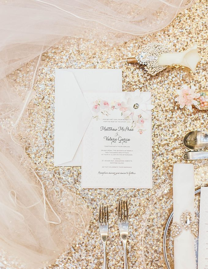Luxurious floral wedding by Winifred Kristé Cake - 008
