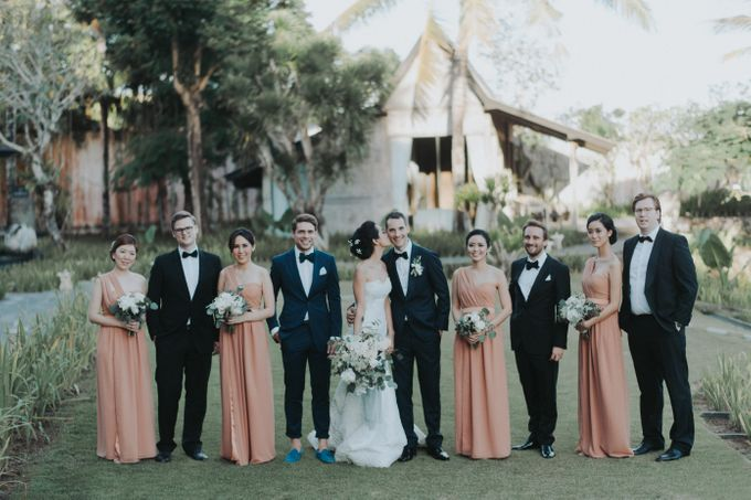 Clarinta & Jan Philipp Wedding by MALVA Bridesmaids - 002