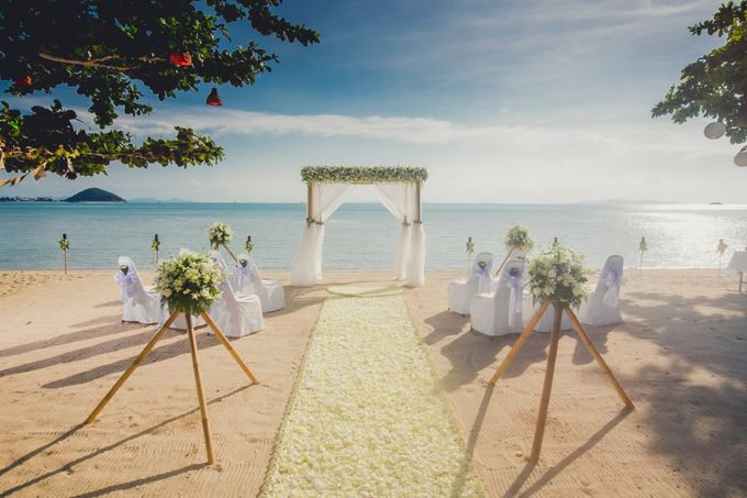 Beach Wedding by Dream Asia Weddings - 001