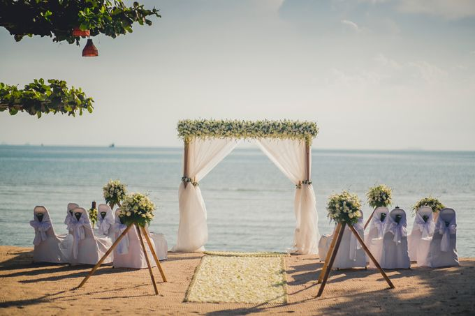 Beach Wedding by Dream Asia Weddings - 002