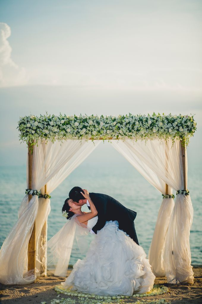 Beach Wedding by Dream Asia Weddings - 005