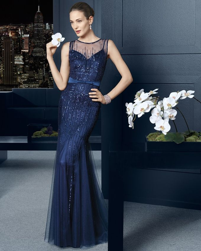 Designer Evening Gowns by Blessed Brides - 001