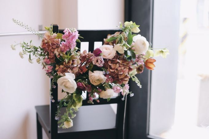 Garden Inspired Bouquets III by Keira Floral - 001