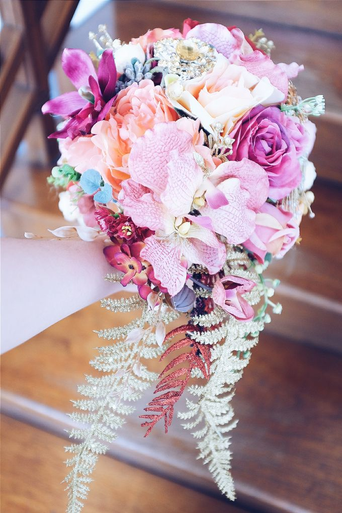 CHARME FAUX BOUQUET by LUX floral design - 008