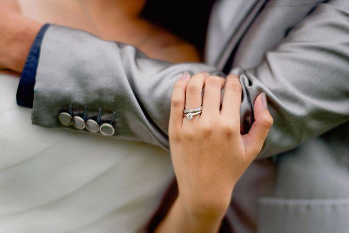 V & YQ - Bespoke Wedding Rings by Vault Fine Jewellery - 003