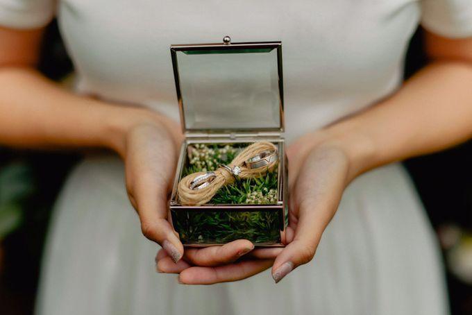 V & YQ - Bespoke Wedding Rings by Vault Fine Jewellery - 001