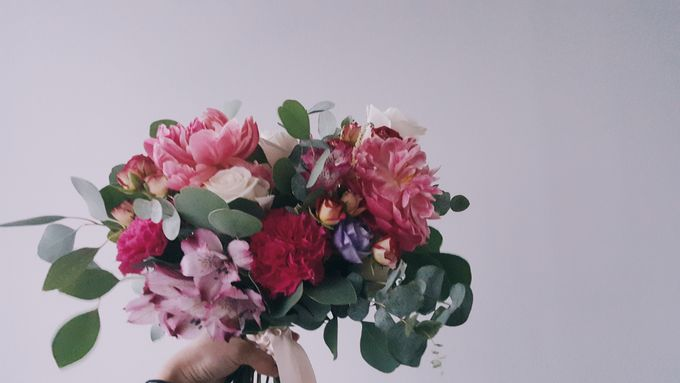 Garden Inspired Bouquets III by Keira Floral - 011