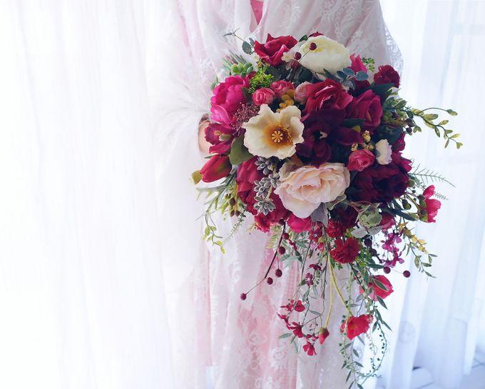 CHARME FAUX BOUQUET by LUX floral design - 006