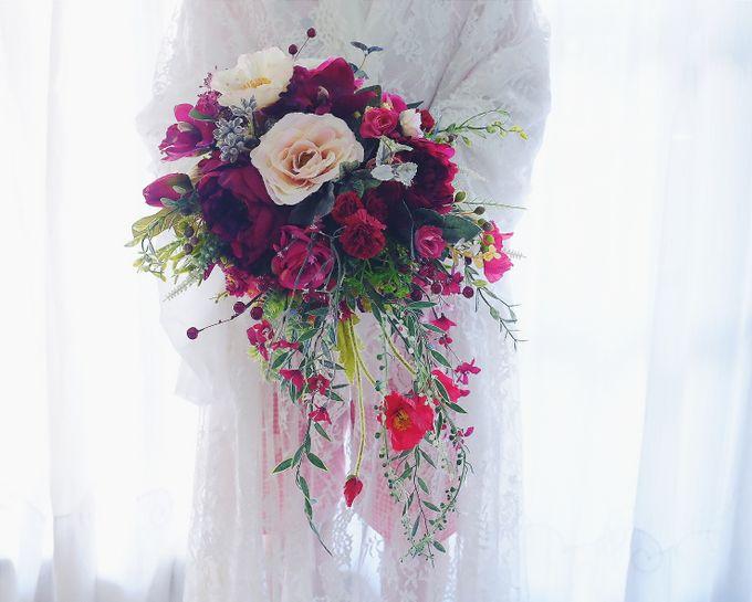 CHARME FAUX BOUQUET by LUX floral design - 005