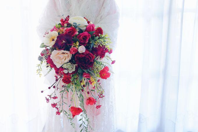 CHARME FAUX BOUQUET by LUX floral design - 004