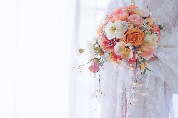 CHARME FAUX BOUQUET by LUX floral design - 001