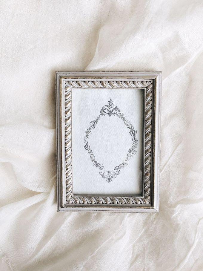 Photo frames for wedding souvenirs by Elantier - 007
