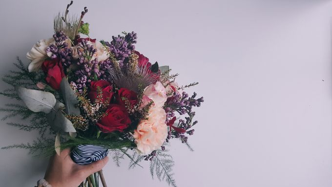 Garden Inspired Bouquets III by Keira Floral - 025