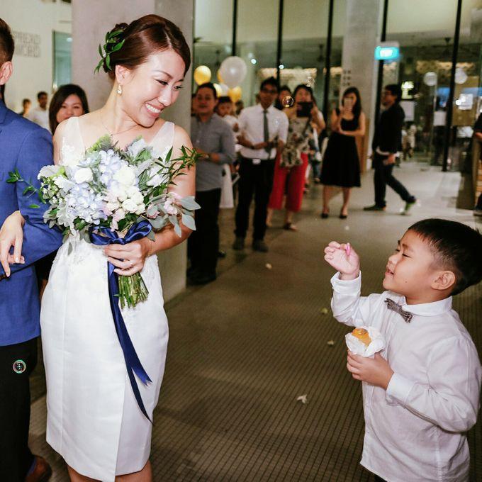 Bridal Bouquets by Ever & Blue Floral Design - 031