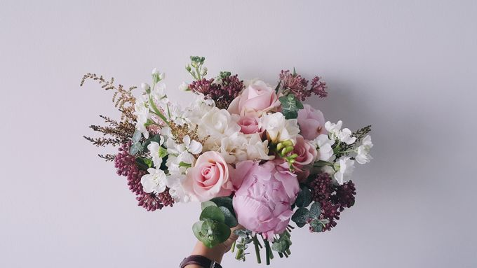 Garden Inspired Bouquets III by Keira Floral - 020