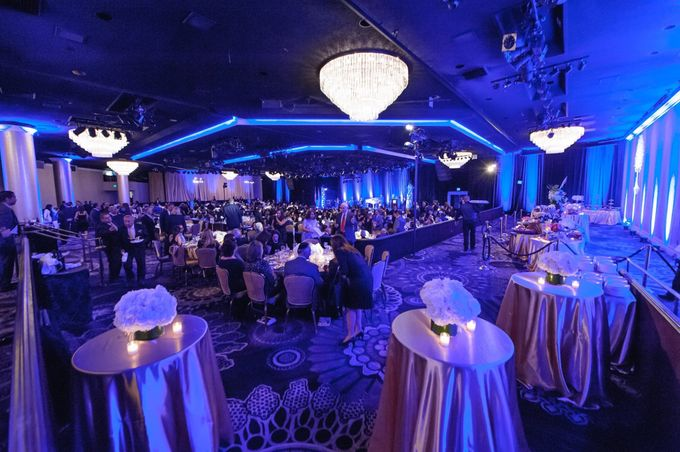 Beverly Hilton Hotel by Pärdē Productions - Parde Productions Event Lighting Los Angeles & Special Effects - 002