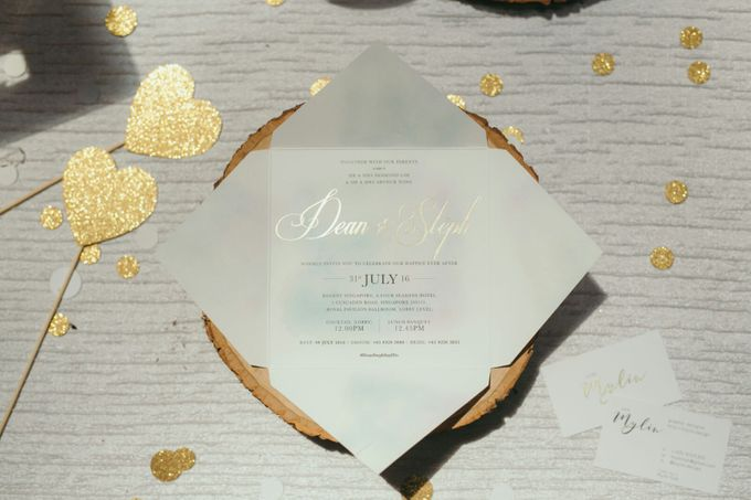 Watercolours Invitation and Styling by mylin design & co. - 002