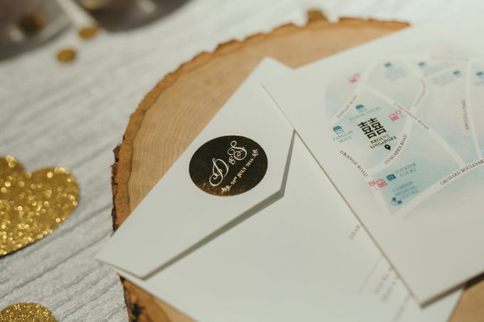 Watercolours Invitation and Styling by mylin design & co. - 004