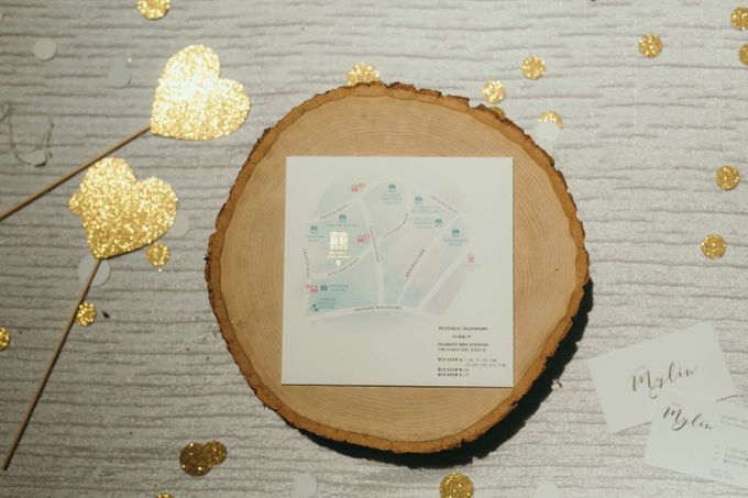 Watercolours Invitation and Styling by mylin design & co. - 005