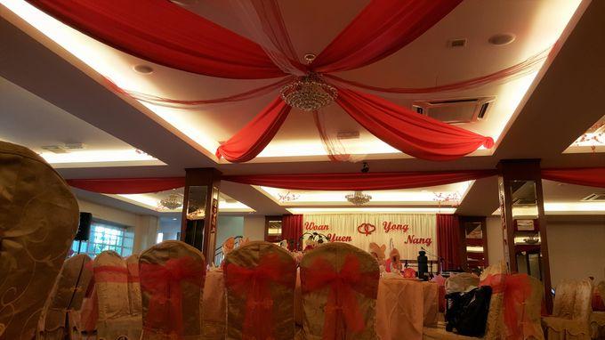 restaurant wedding dinner by Glammories - 007