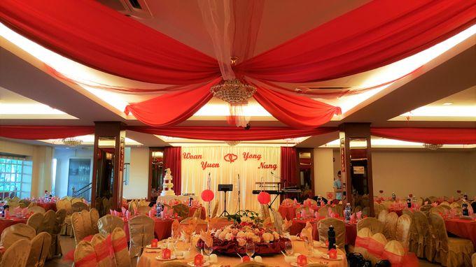 restaurant wedding dinner by Glammories - 006