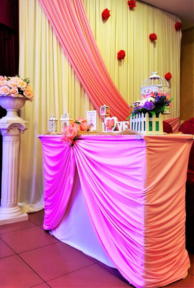restaurant wedding dinner by Glammories - 003