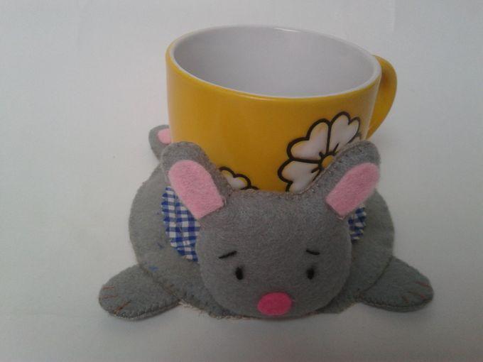 Hunny Bunny Coaster by JollyMe Felt Studio - 002