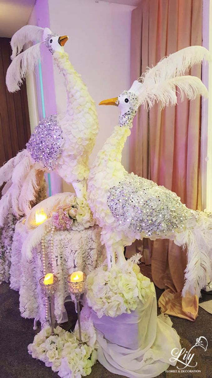 Dian & Anderson Wedding by Lily Florist & Decoration - 008