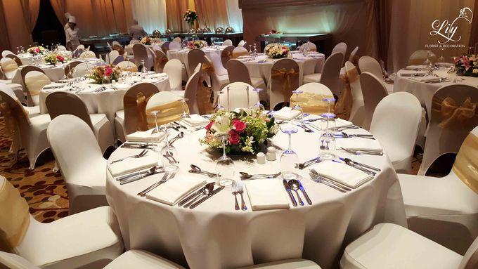 Royal Wedding of Alfin & Angel Grand Hyatt by Lily Florist & Decoration - 008