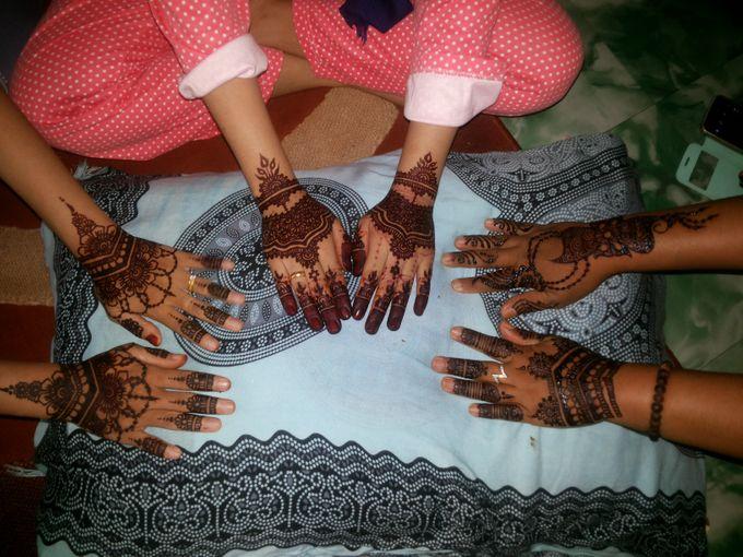 Red Henna by Ikkie henna art - 030