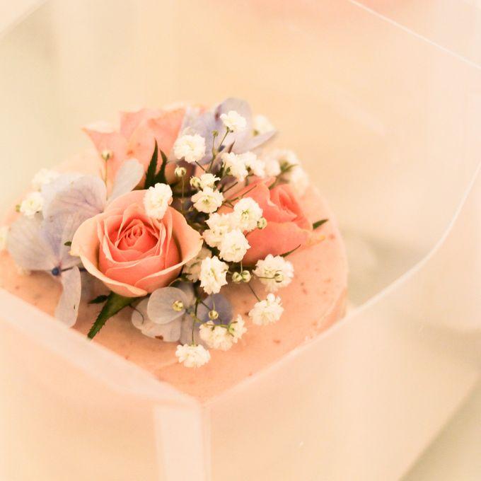 Wedding Cake - Denny & Octavia by Lareia Cake & Co. - 002