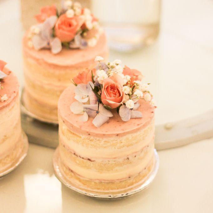 Wedding Cake - Denny & Octavia by Lareia Cake & Co. - 003