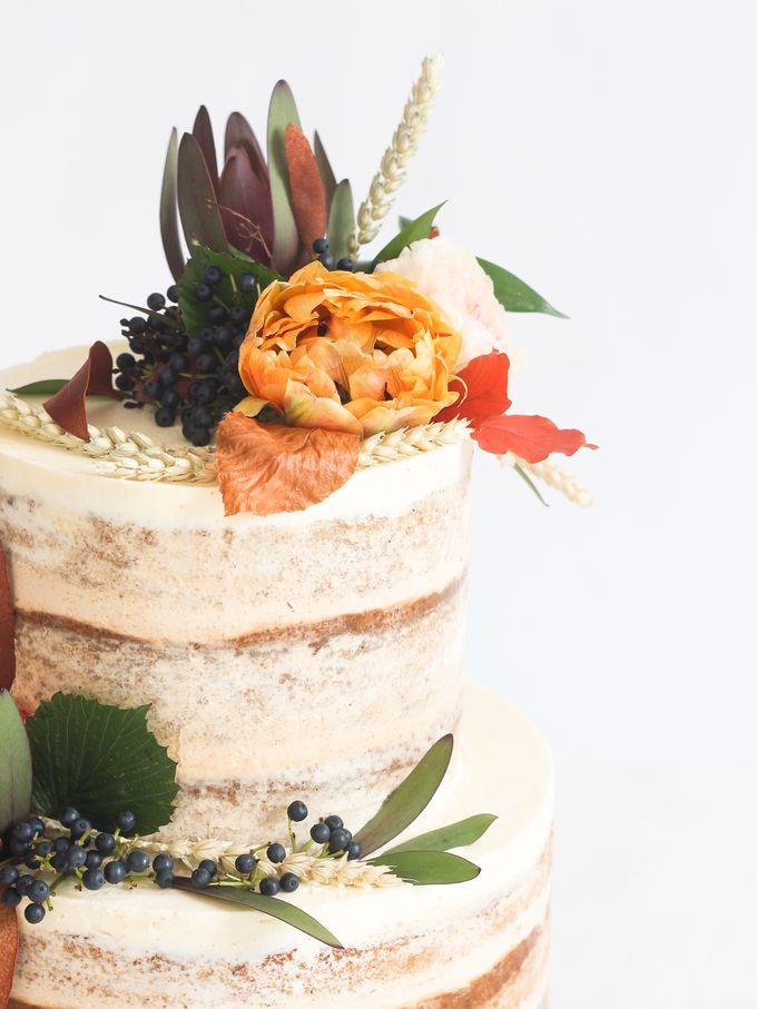 Party Cake - Semi Naked Autumn Cake by Lareia Cake & Co. - 004