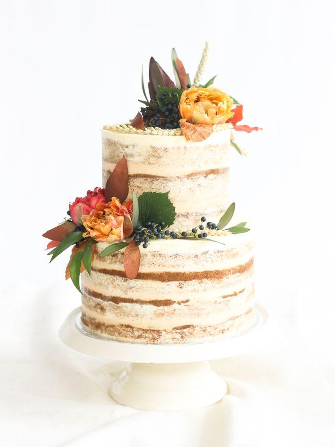 Party Cake - Semi Naked Autumn Cake by Lareia Cake & Co. - 005