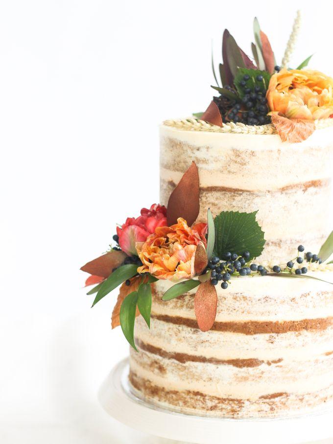 Party Cake - Semi Naked Autumn Cake by Lareia Cake & Co. - 002
