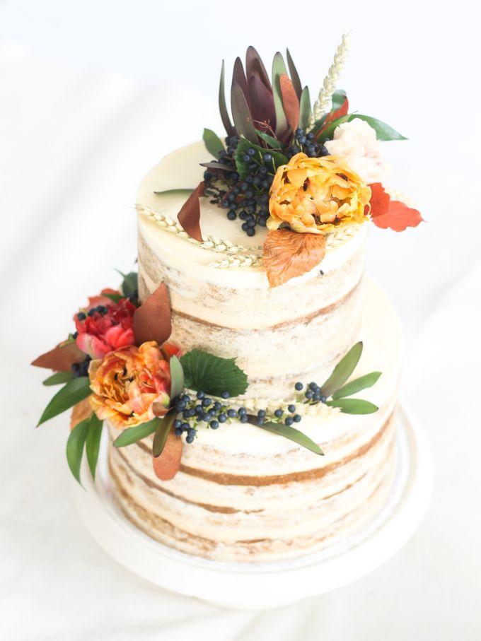 Party Cake - Semi Naked Autumn Cake by Lareia Cake & Co. - 003