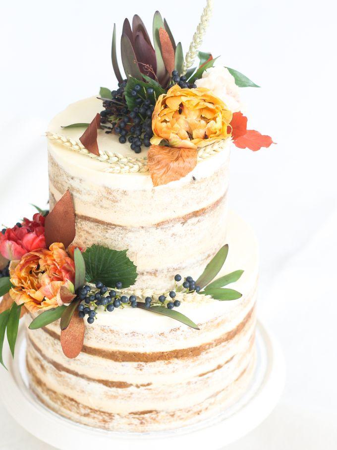 Party Cake - Semi Naked Autumn Cake by Lareia Cake & Co. - 007