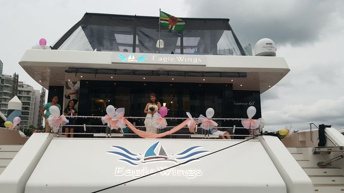 Blissful Wedding by Eagle Wings Yacht Charters Pte Ltd - 002