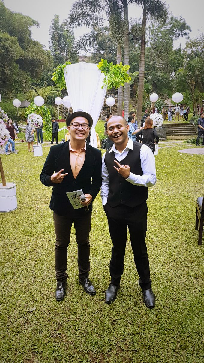 Jane & Wendy engagement party at Green Forest Resort Bandung by Gio Music Entertainment - 003
