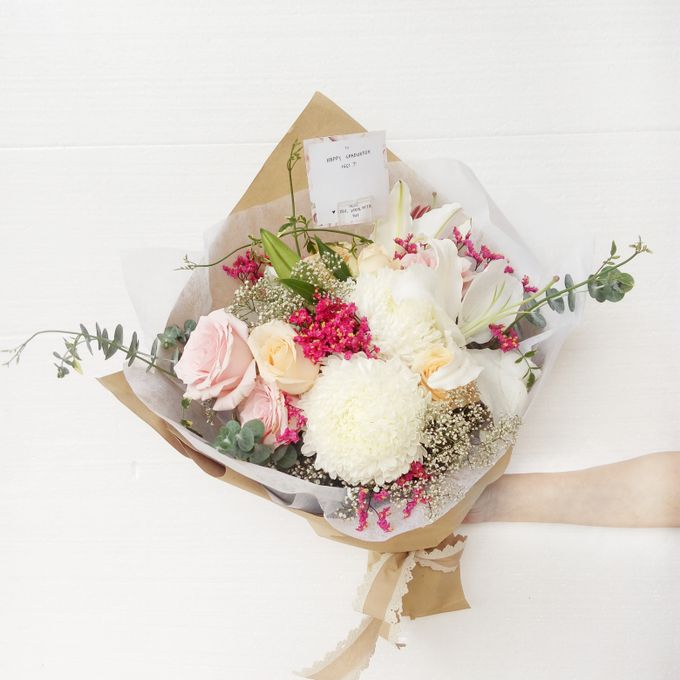 Gift Bouquet by Tiffany's Flower Room - 007