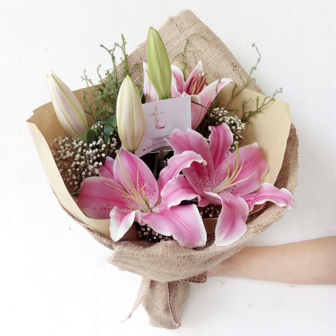 Gift Bouquet by Tiffany's Flower Room - 003