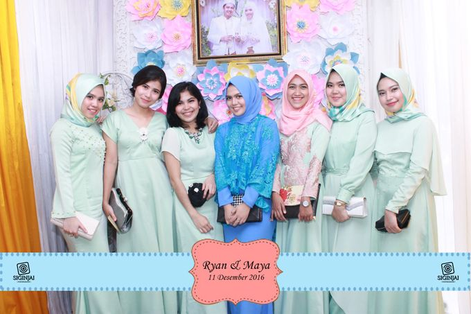 Photobooth Wedding Maya ryan by Siginjai Photography - 002