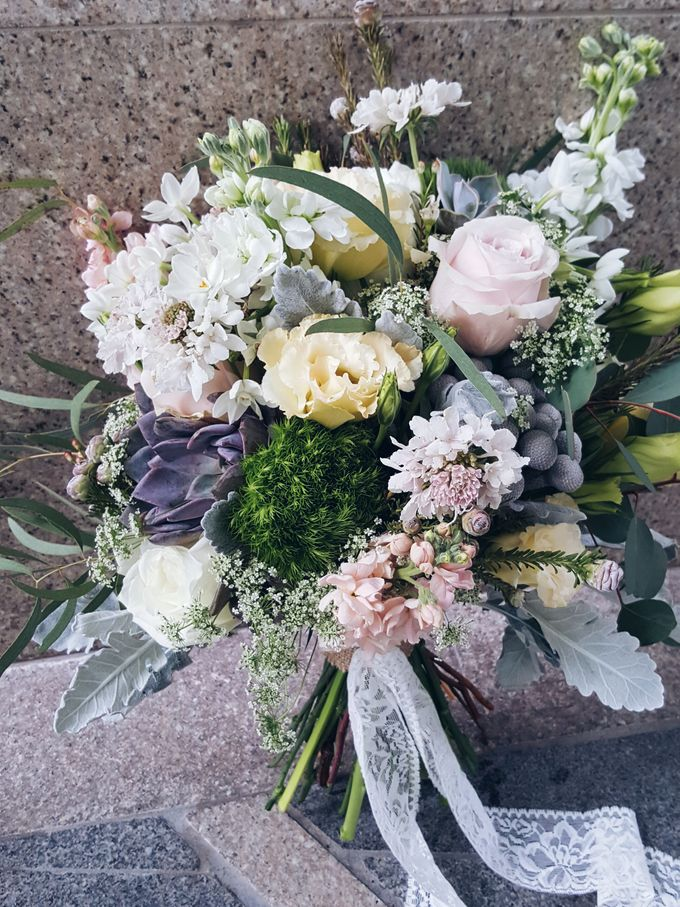 Bridal Bouquets by Ever & Blue Floral Design - 002