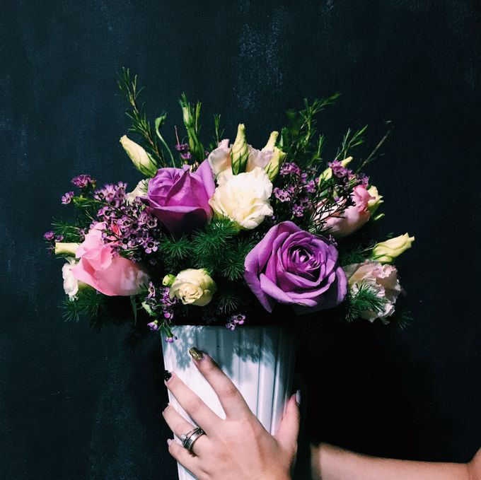 Flowers Bouquet by Te Planner - 016