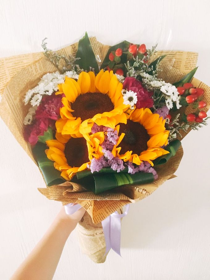 Flowers Bouquet by Te Planner - 026